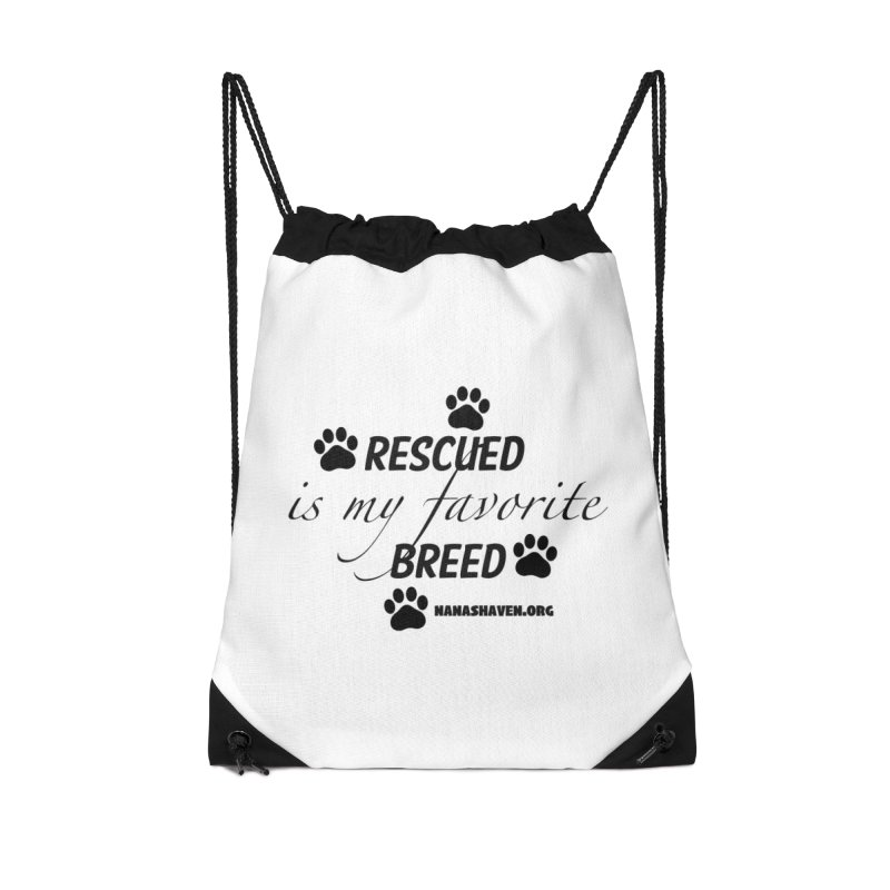 NANA'S RESCUED PAWS Accessories Bag by NANASHAVEN Shop