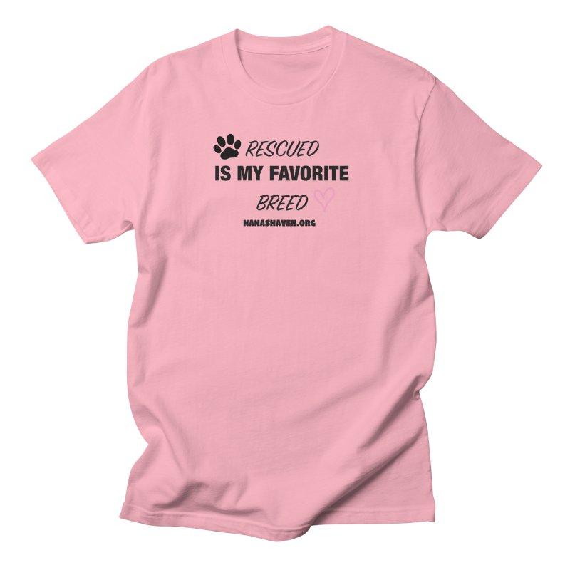 NANA'S RESCUED PAW & HEART Women's T-Shirt by NANASHAVEN Shop