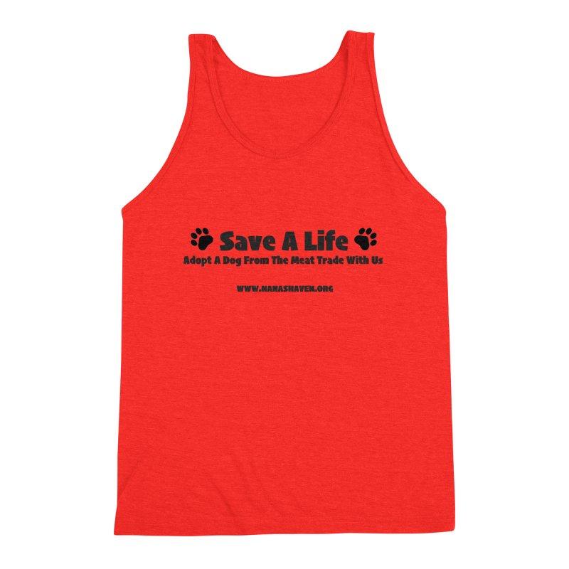 NH SAVE A LIFE TEE Men's Tank by NANASHAVEN Shop
