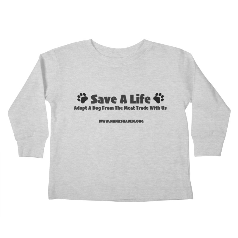 NH SAVE A LIFE TEE Kids Toddler Longsleeve T-Shirt by NANASHAVEN Shop
