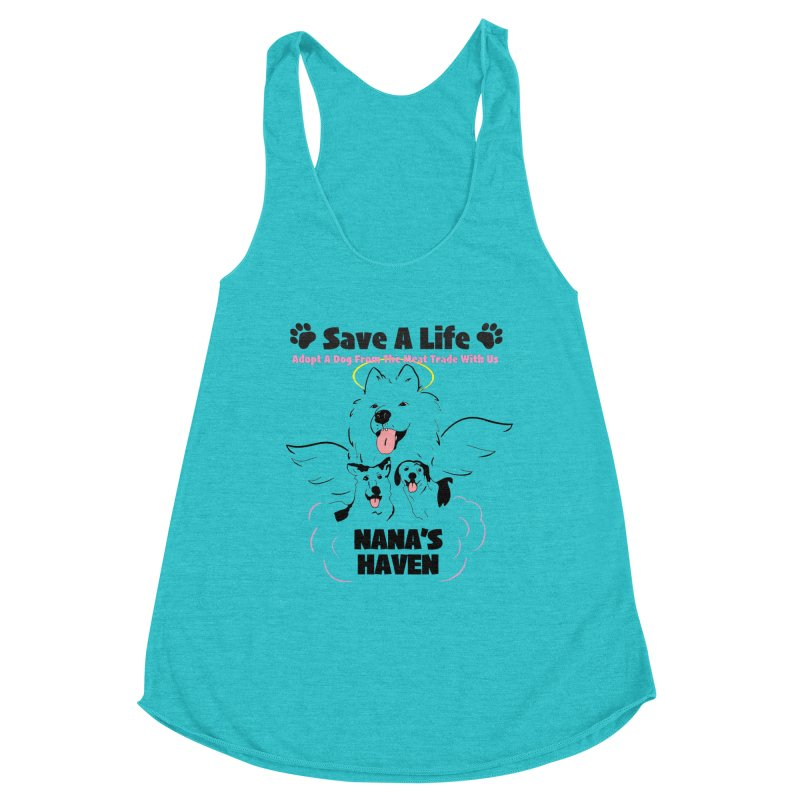 NH SAVE A LIFE AND LOGO Women's Tank by NANASHAVEN Shop