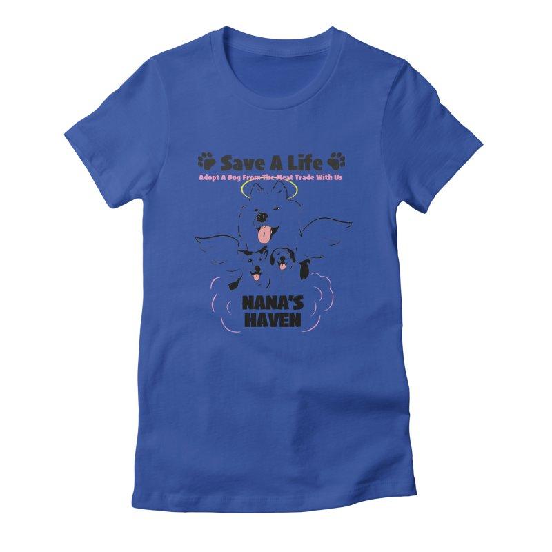 NH SAVE A LIFE AND LOGO Women's T-Shirt by NANASHAVEN Shop