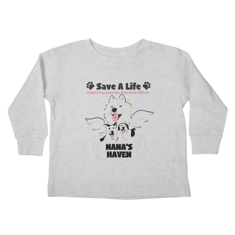 NH SAVE A LIFE AND LOGO Kids Toddler Longsleeve T-Shirt by NANASHAVEN Shop