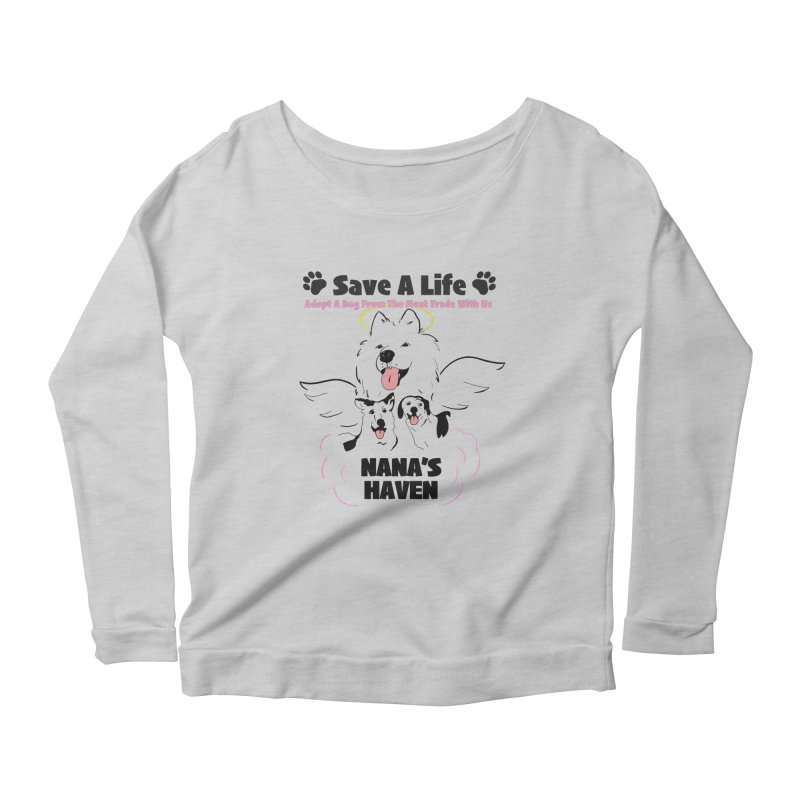 NH SAVE A LIFE AND LOGO Women's Longsleeve T-Shirt by NANASHAVEN Shop