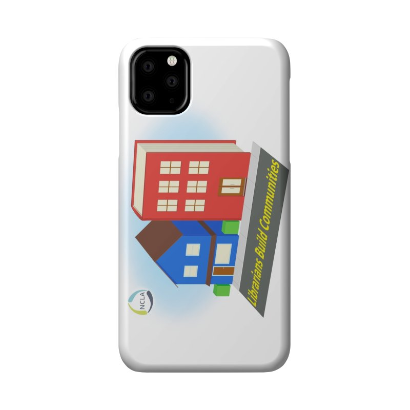 Book City Accessories Phone Case by North Carolina Library Association Summer Shop
