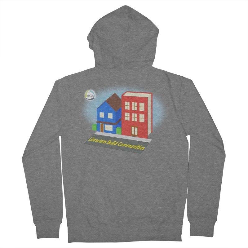 Book City Men's Zip-Up Hoody by North Carolina Library Association Summer Shop