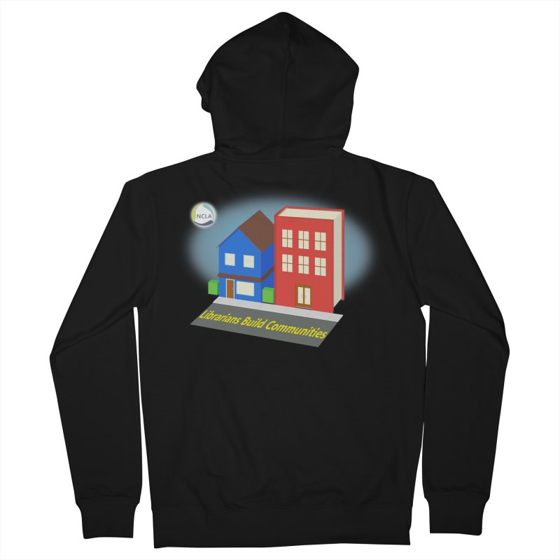 Book City Men's Zip-Up Hoody by North Carolina Library Association Summer Shop