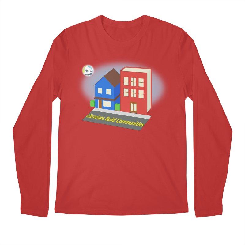 Book City Men's Longsleeve T-Shirt by North Carolina Library Association Summer Shop