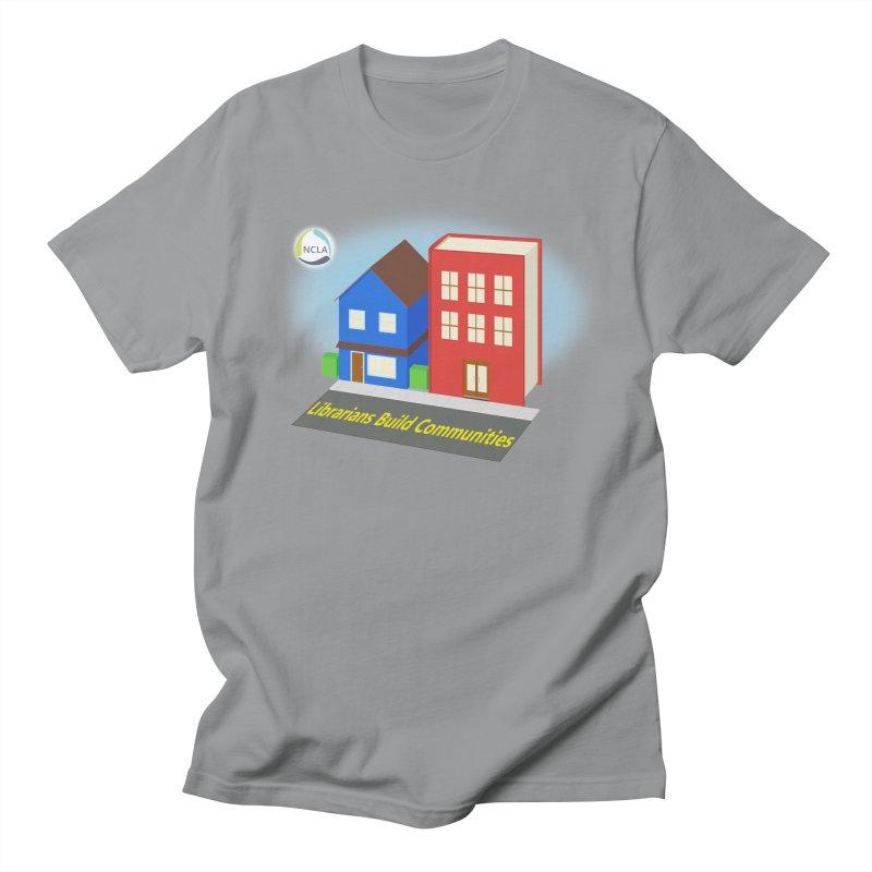 Book City Men's T-Shirt by North Carolina Library Association Summer Shop