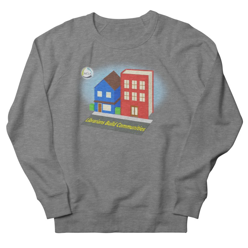 Book City Men's Sweatshirt by North Carolina Library Association Summer Shop