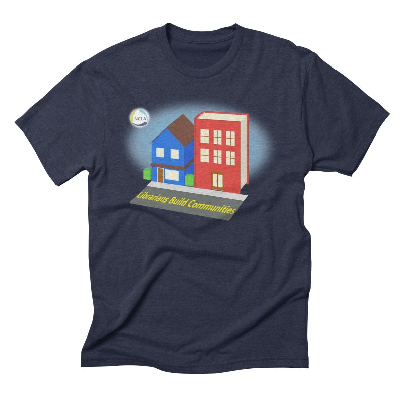Book City Men's T-Shirt by North Carolina Library Association Summer Shop
