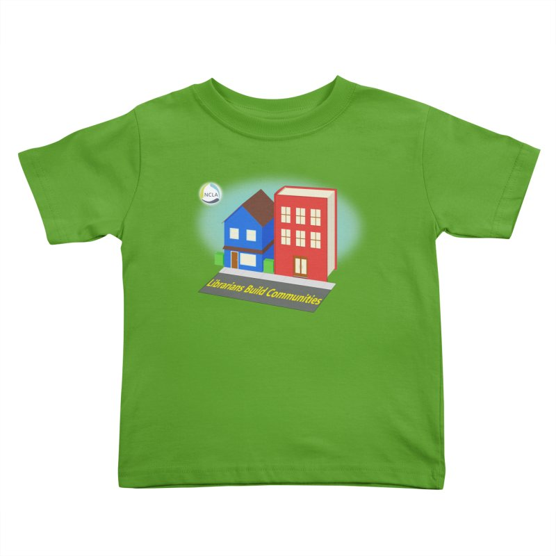 Book City Kids Toddler T-Shirt by North Carolina Library Association Summer Shop