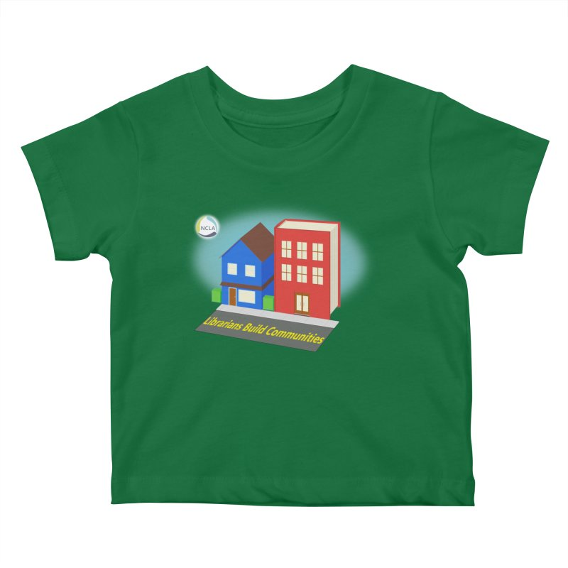 Book City Kids Baby T-Shirt by North Carolina Library Association Summer Shop