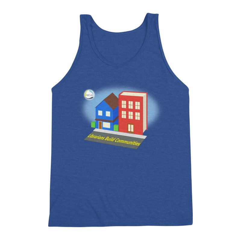 Book City Men's Tank by North Carolina Library Association Summer Shop