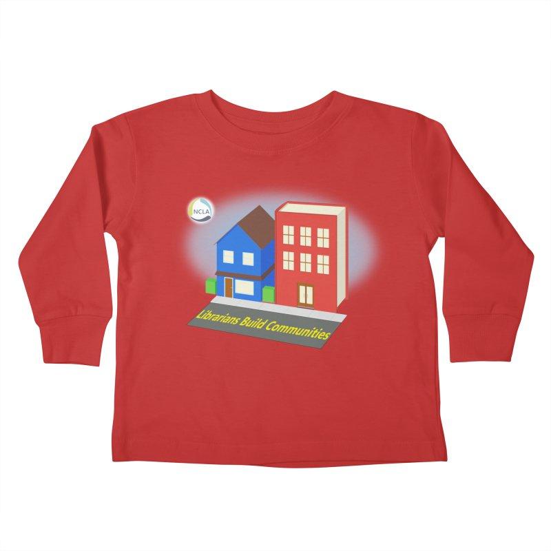 Book City Kids Toddler Longsleeve T-Shirt by North Carolina Library Association Summer Shop