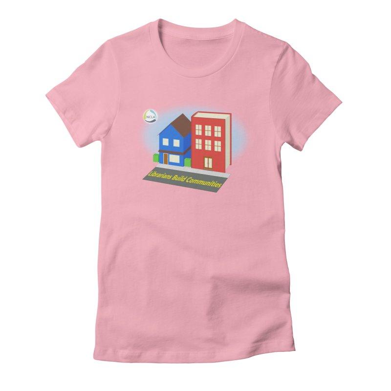 Book City Women's T-Shirt by North Carolina Library Association Summer Shop
