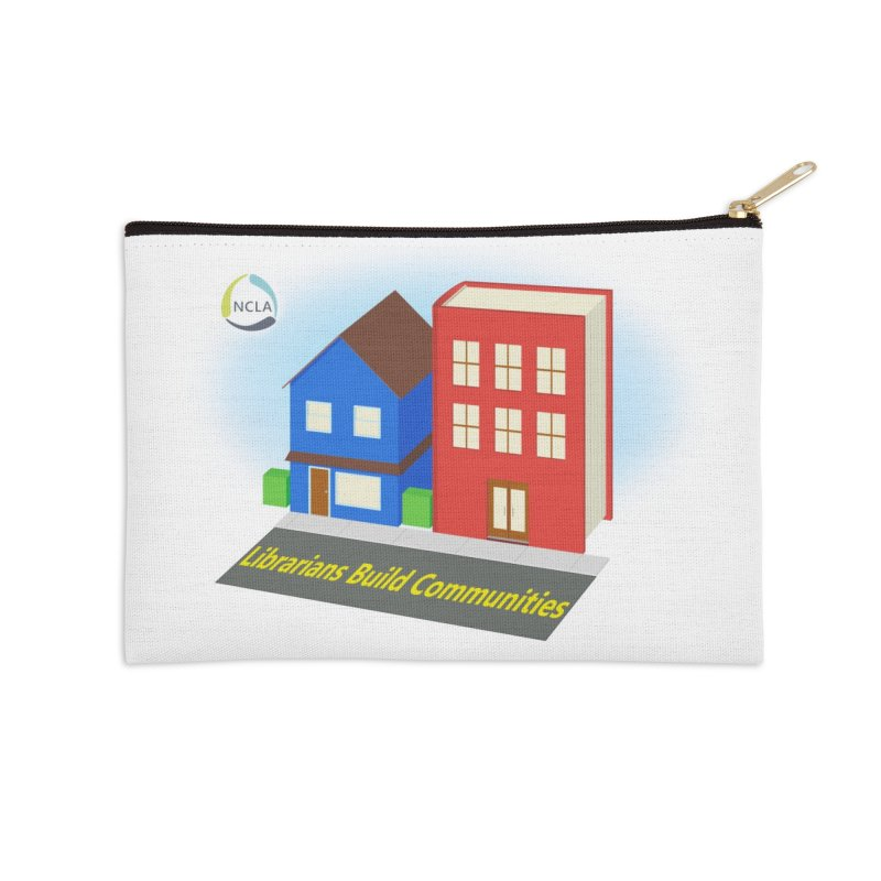 Book City Accessories Zip Pouch by North Carolina Library Association Summer Shop