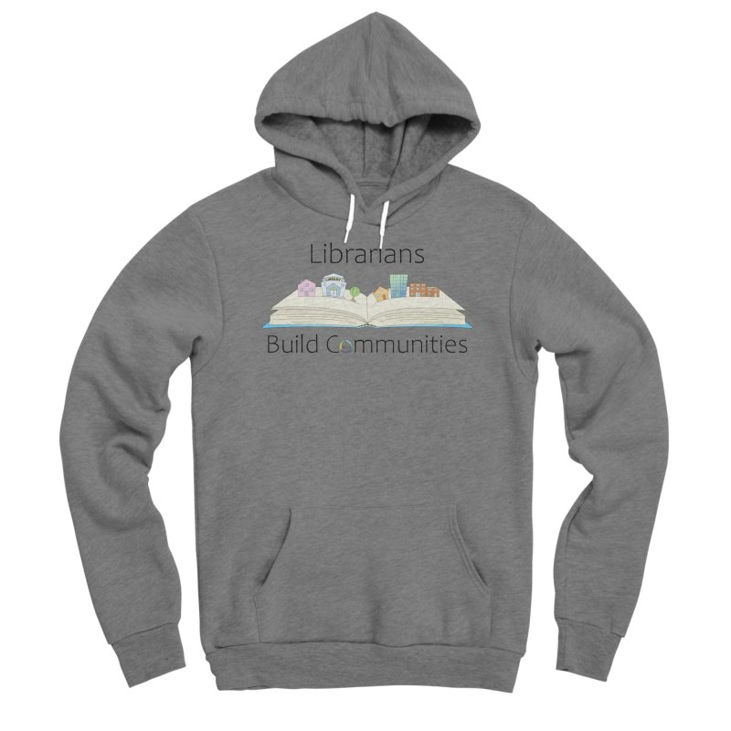 Pop-Up Communities (Black Text / Light Background) Women's Pullover Hoody by North Carolina Library Association Summer Shop
