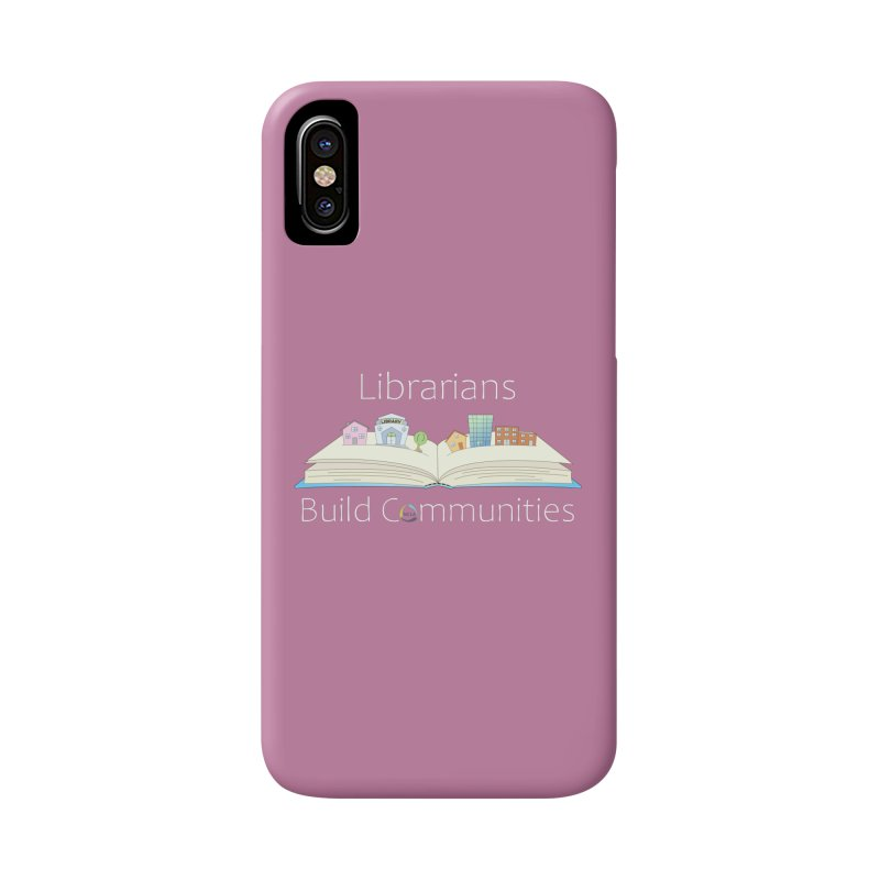 Pop-Up Communities (White Text / Dark Background) Accessories Phone Case by North Carolina Library Association Summer Shop