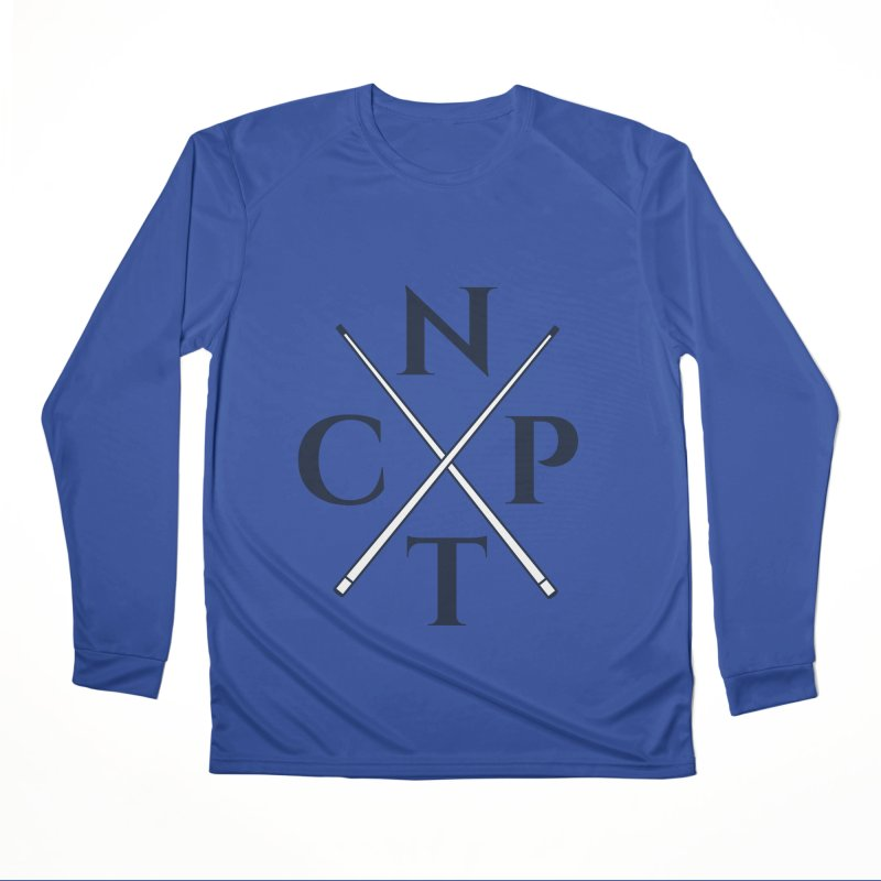 Cue Criss Cross Men's Performance Longsleeve T-Shirt by Shop NCPTplay