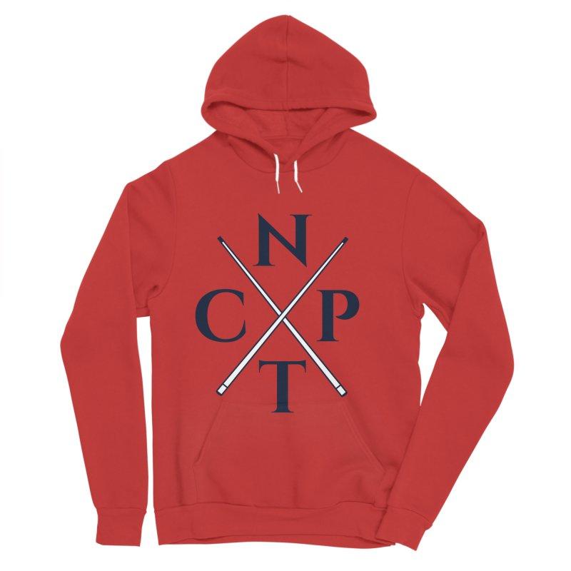 Cue Criss Cross Men's Sponge Fleece Pullover Hoody by Shop NCPTplay
