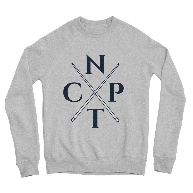 Cue Criss Cross Women's Sponge Fleece Sweatshirt by Shop NCPTplay