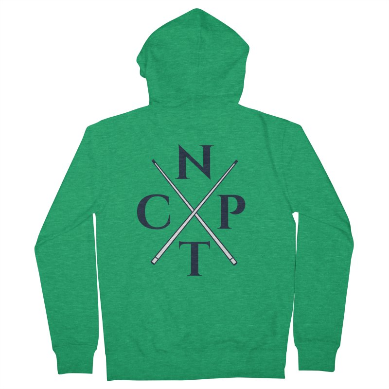 Cue Criss Cross Men's Zip-Up Hoody by Shop NCPTplay