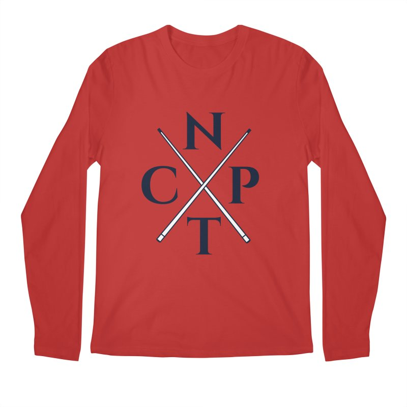 Cue Criss Cross Men's Regular Longsleeve T-Shirt by Shop NCPTplay