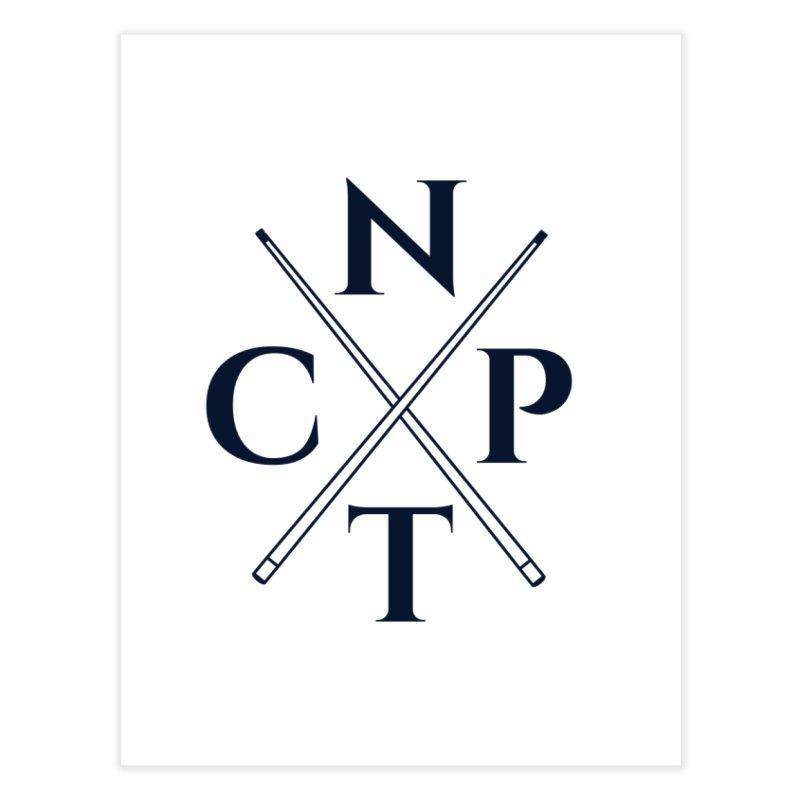 Cue Criss Cross Home Fine Art Print by Shop NCPTplay