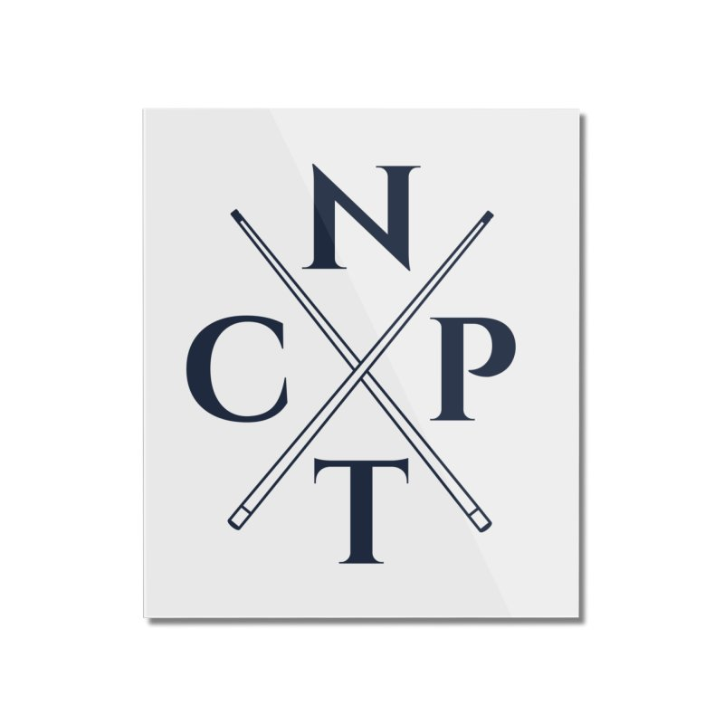 Cue Criss Cross Home Mounted Acrylic Print by Shop NCPTplay