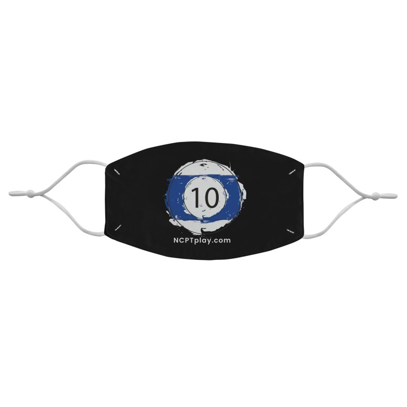 10 Ball Art Accessories Face Mask by Shop NCPTplay