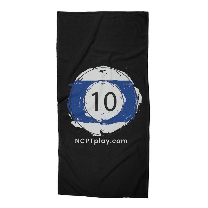 10 Ball Art Accessories Beach Towel by Shop NCPTplay
