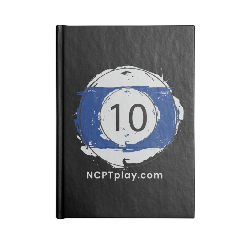 10 Ball Art Accessories Lined Journal Notebook by Shop NCPTplay