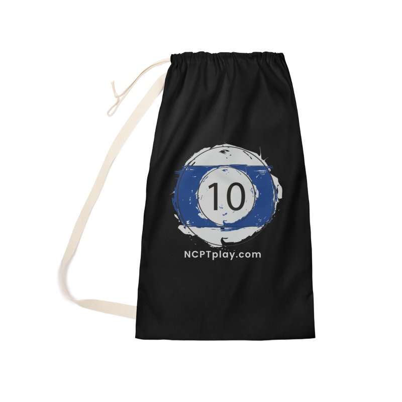 10 Ball Art Accessories Laundry Bag Bag by Shop NCPTplay