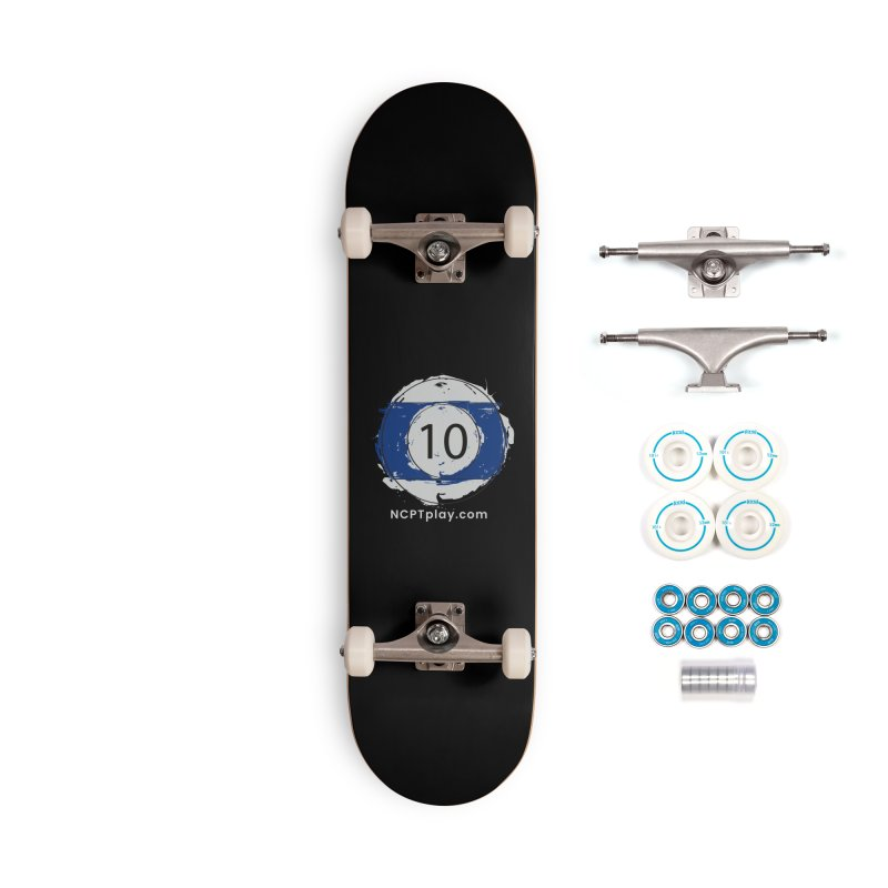 10 Ball Art Accessories Complete - Basic Skateboard by Shop NCPTplay