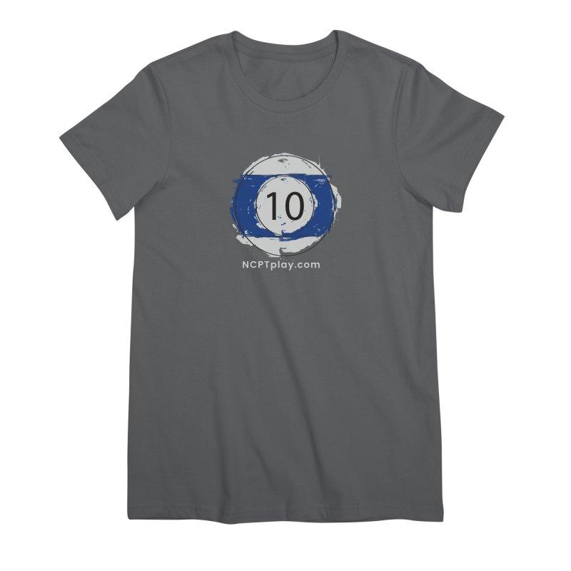 10 Ball Art Women's Premium T-Shirt by Shop NCPTplay
