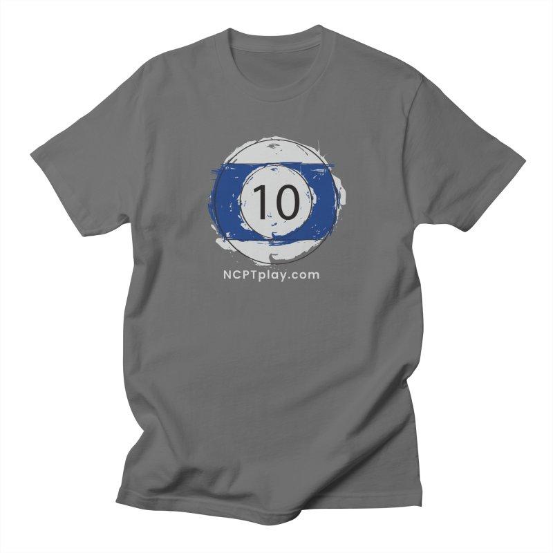 10 Ball Art Men's T-Shirt by Shop NCPTplay