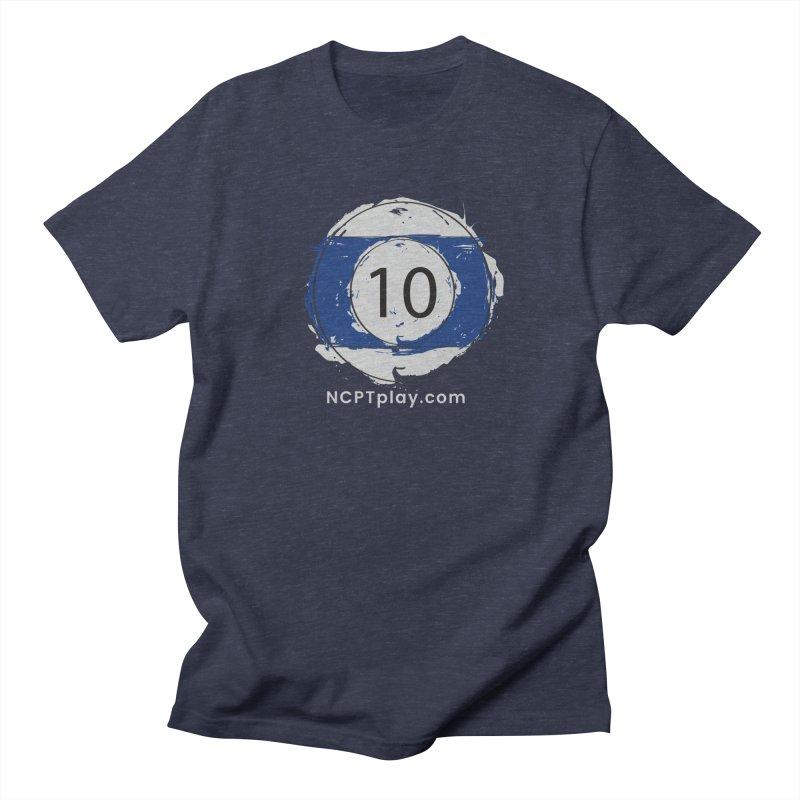 10 Ball Art Men's Regular T-Shirt by Shop NCPTplay