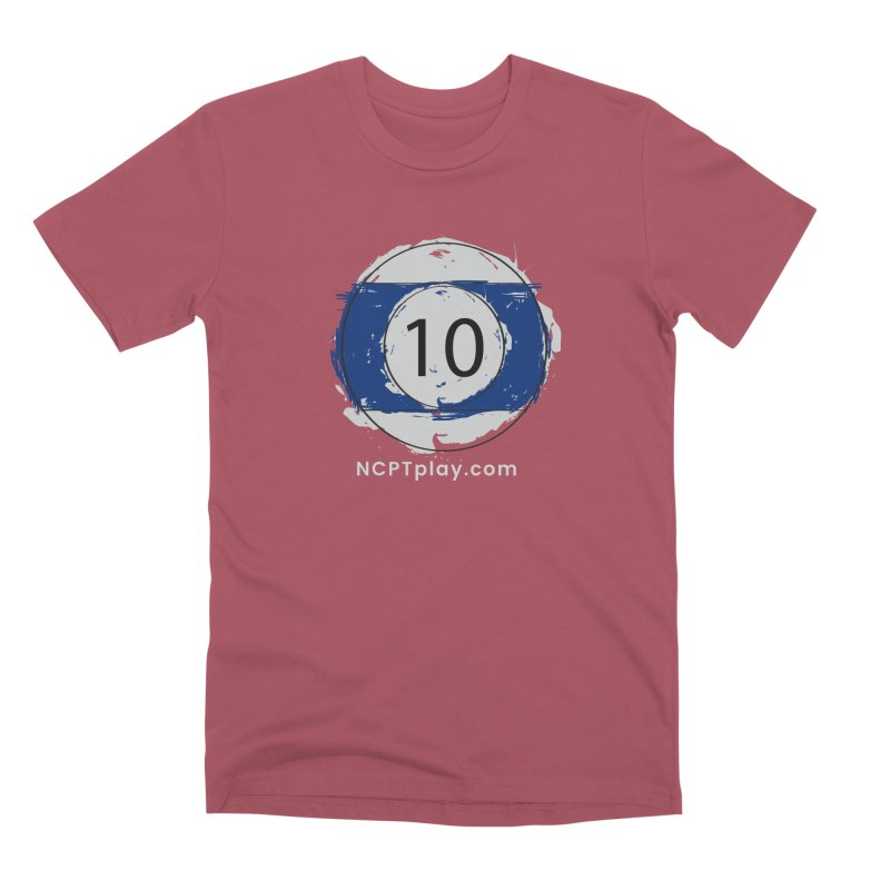 10 Ball Art Men's Premium T-Shirt by Shop NCPTplay