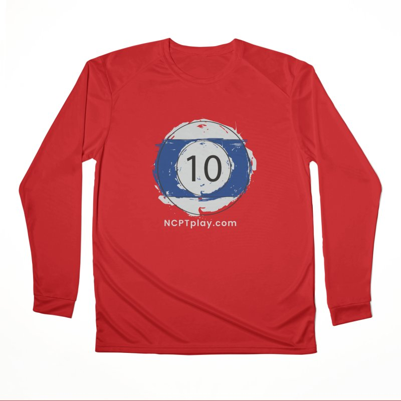 10 Ball Art Men's Performance Longsleeve T-Shirt by Shop NCPTplay