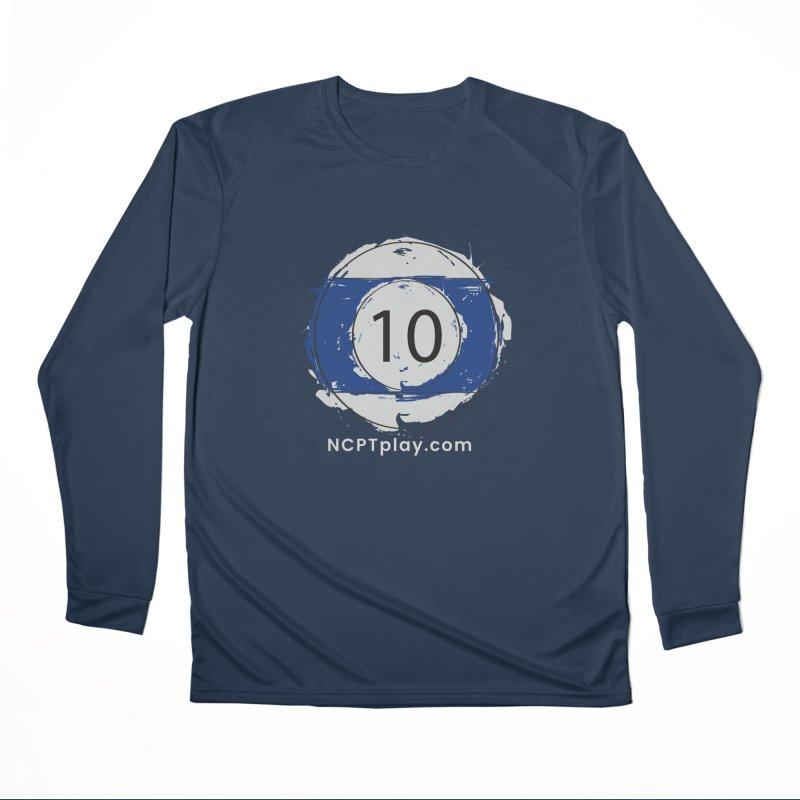 10 Ball Art Women's Performance Unisex Longsleeve T-Shirt by Shop NCPTplay