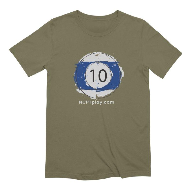 10 Ball Art Men's Extra Soft T-Shirt by Shop NCPTplay