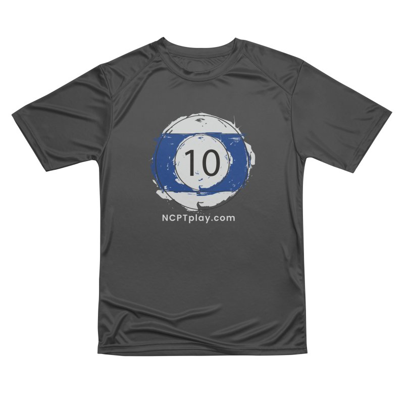 10 Ball Art Men's Performance T-Shirt by Shop NCPTplay