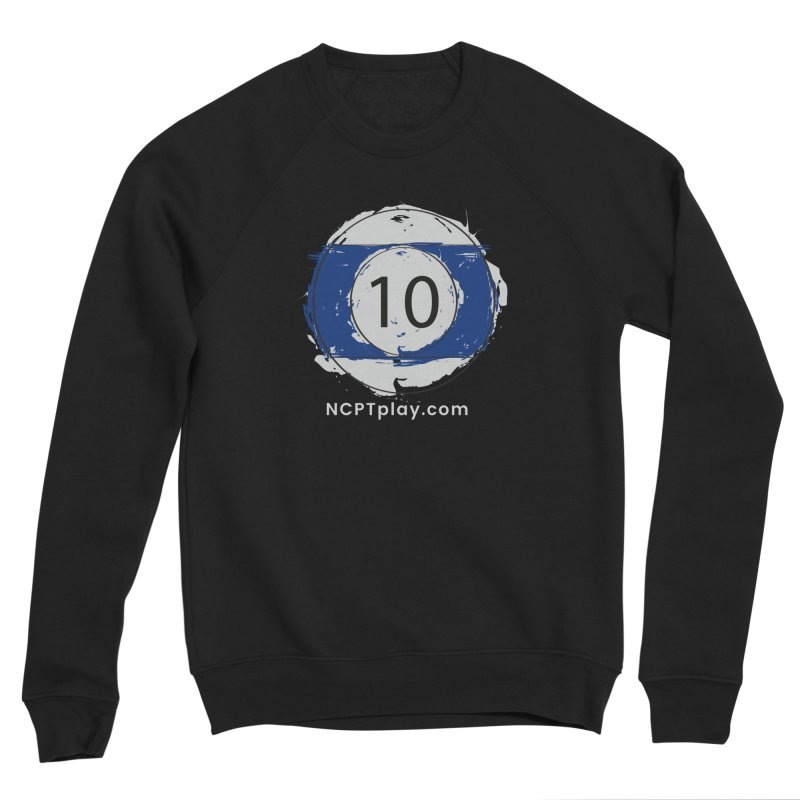 10 Ball Art Men's Sponge Fleece Sweatshirt by Shop NCPTplay