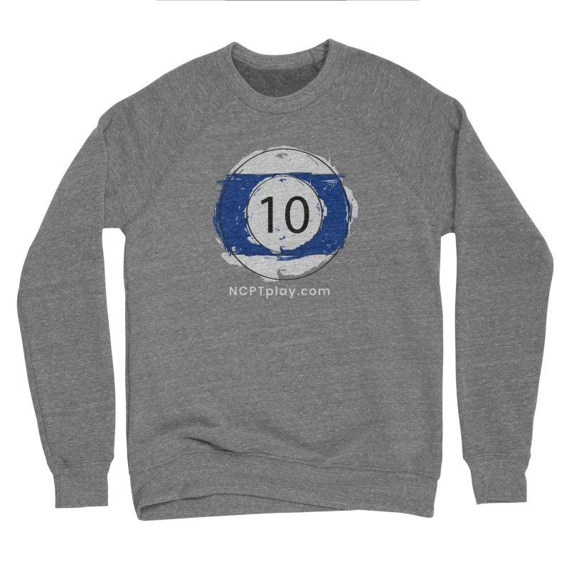 10 Ball Art Women's Sponge Fleece Sweatshirt by Shop NCPTplay
