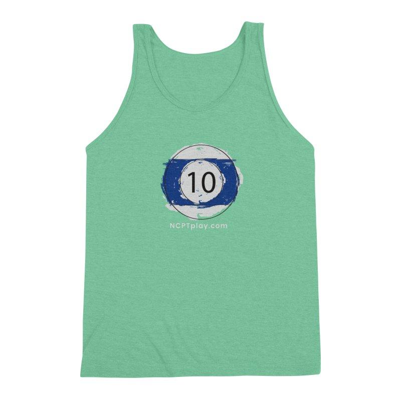 10 Ball Art Men's Triblend Tank by Shop NCPTplay