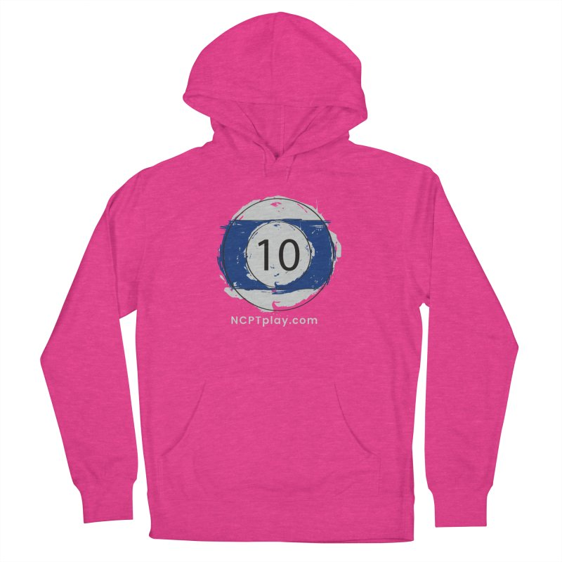 10 Ball Art Women's French Terry Pullover Hoody by Shop NCPTplay