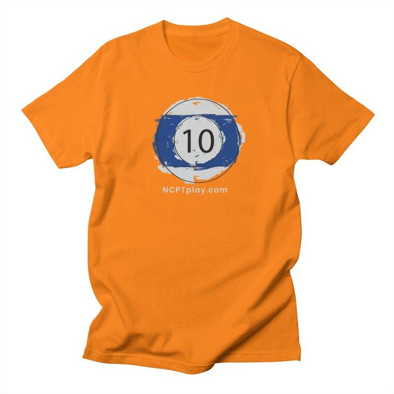 10 Ball Art Women's Regular Unisex T-Shirt by Shop NCPTplay