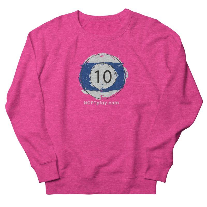 10 Ball Art Women's French Terry Sweatshirt by Shop NCPTplay