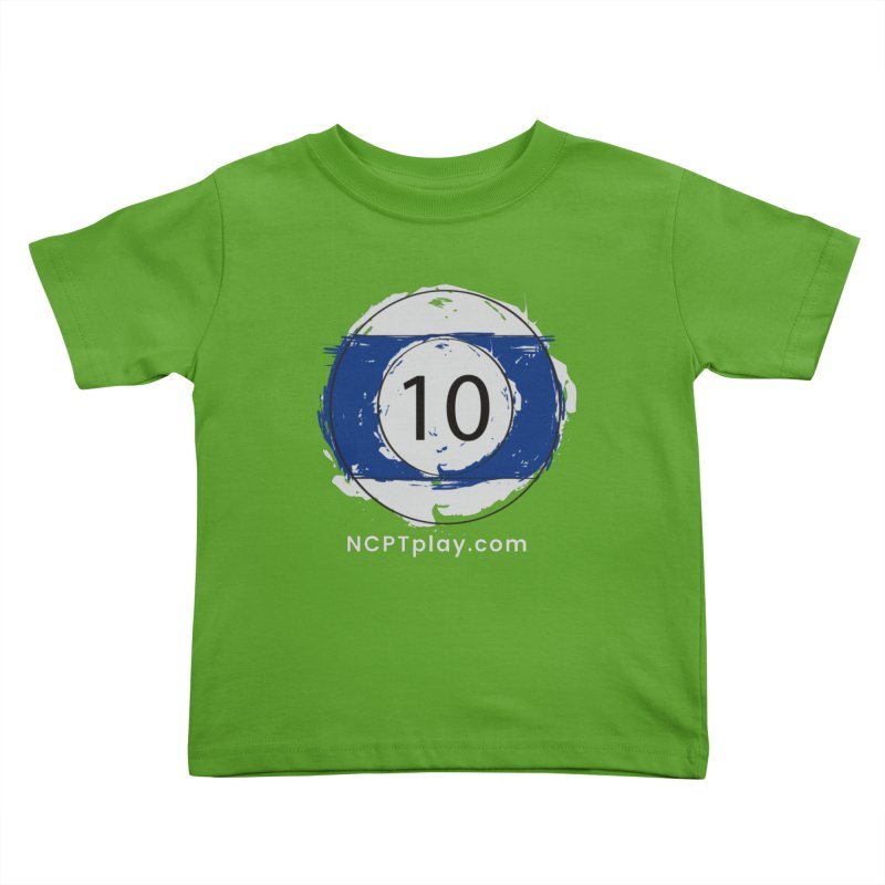 10 Ball Art Kids Toddler T-Shirt by Shop NCPTplay